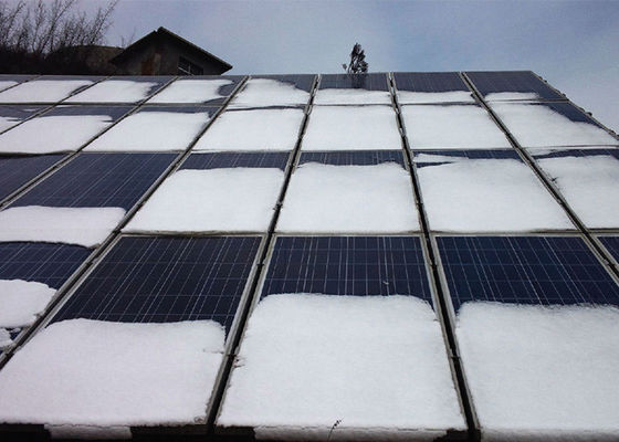 6 x 12 Panel Surya Mono Cell, Biru / Hitam Off Grid Solar Panel